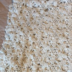 Crocheted Table/bedroom Cover